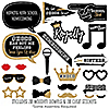 HOCO Dance - 20 Piece Homecoming Photo Booth Props Kit