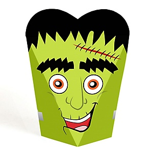 Halloween Monsters - Frankenstein Halloween Party Favors - Gift Favor Boxes for Women & Kids - Set of 12