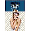"""Happy Hanukkah - Chanukah Party Photo Booth Backdrops - 36"""" x 60"""""""