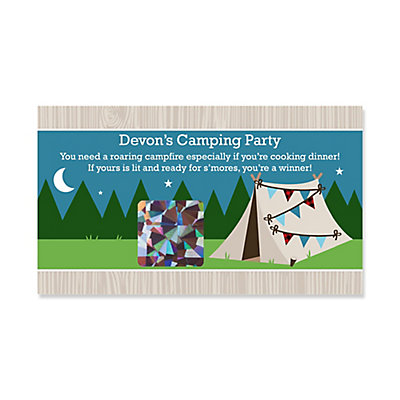 Happy Camper Personalized Camping Baby Shower Or Birthday Party