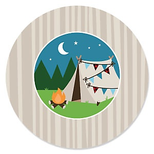 Happy Camper - Camping Party Theme