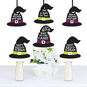 Happy Halloween - Decorations DIY Witch Party Essentials - Set of 20