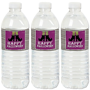 Happy Halloween - Party Water Bottle Sticker Labels - Set of 20