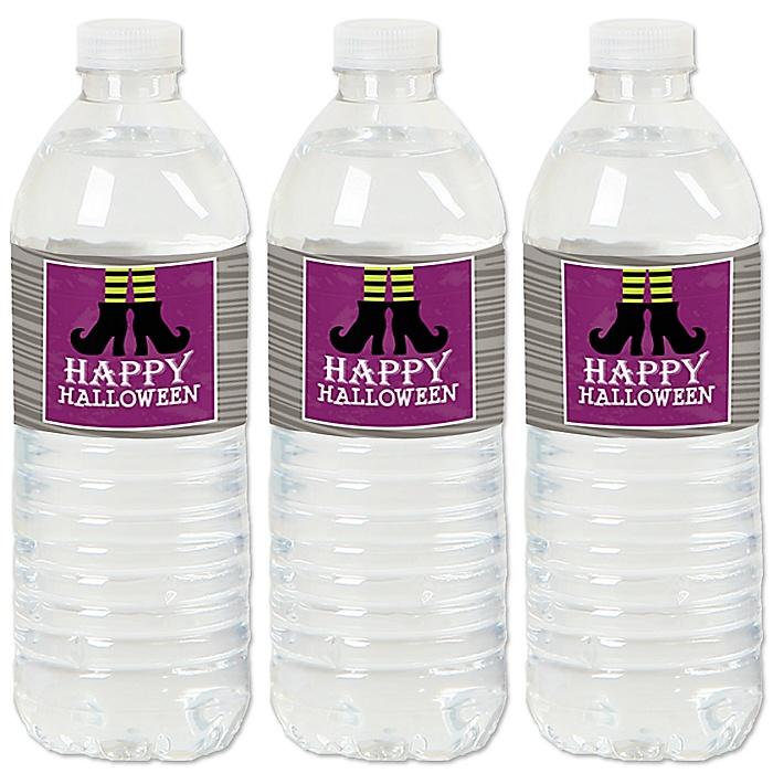 Happy Halloween - Party Water Bottle Sticker Labels - Set of 20