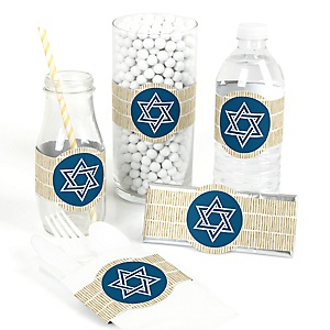 Happy Hanukkah - DIY Chanukah Wrappers - 15 ct