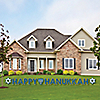 Happy Hanukkah - Yard Sign Outdoor Lawn Decorations - Chanukah Yard Signs