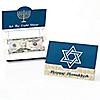 Happy Hanukkah - Set of 8 Chanukah Money And Gift Card Holders