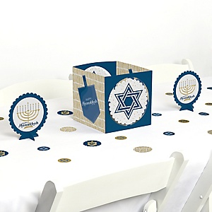 Happy Hanukkah - Chanukah Centerpiece and Table Decoration Kit