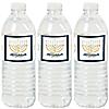 Happy Hanukkah - Chanukah Water Bottle Sticker Labels - Set of 20