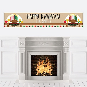 Happy Kwanzaa - Personalized African Heritage Holiday Banners