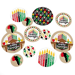 Happy Kwanzaa - African Heritage Holiday Table Confetti - 27 ct