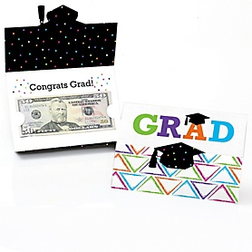 Hats Off Grad - Graduation Money Holders - 8 ct.