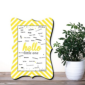 Baby Shower Personalized Signature Mats