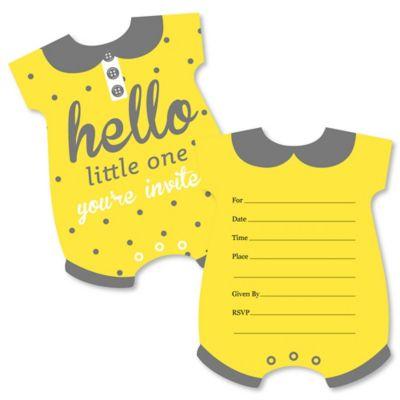 FillIn Baby Shower Invitations Thank You Cards BabyShowerStuffcom
