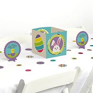 Hippity Hoppity - Easter Bunny Party Centerpiece and Table Decoration Kit