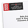 Ho Ho Ho - 30 Personalized Christmas Return Address Labels
