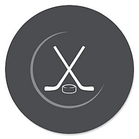 Shoots & Scores! - Hockey - Baby Shower Theme