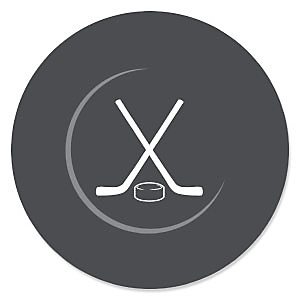 Shoots & Scores! - Hockey - Baby Shower Theme