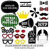 Homecoming - 20 Piece Football Themed School Dance Photo Booth Props Kit