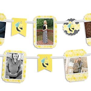 Honey Bee - Baby Shower Photo Garland Banners