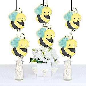 Honey bee baby shower decorations theme babyshowerstuff honey bee decorations diy baby shower or birthday party essentials set of 20 solutioingenieria Choice Image