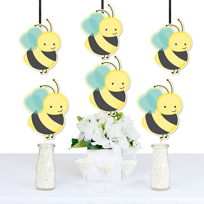 Honey Bee - Decorations DIY Baby Shower or Birthday Party Essentials - Set of 20