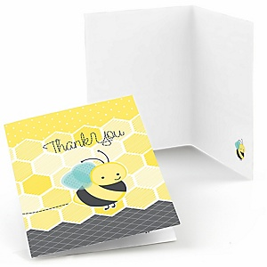 Honey Bee - Party Thank You Cards - 8 ct