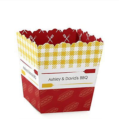 summer bbq hot diggity dog party mini favor boxes personalized everyday party treat candy. Black Bedroom Furniture Sets. Home Design Ideas