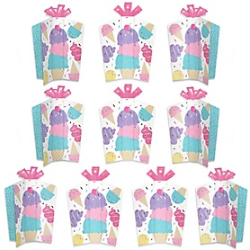 Scoop Up The Fun - Ice Cream - Table Decorations - Sprinkles Party Fold and Flare Centerpieces - 10 Count
