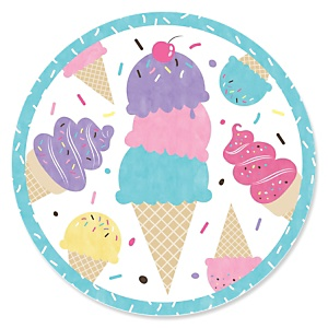 Scoop Up The Fun - Ice Cream - Sprinkles Party Theme