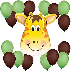 Jolly Giraffe - Baby Shower Balloon Kit