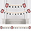Jolly Santa Claus - Personalized Christmas Party Bunting Banner & Decorations