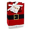 Jolly Santa Claus - Christmas Party Favor Boxes - Set of 12