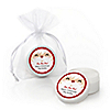 Jolly Santa Claus - Personalized Christmas Lip Balm Favors - Set of 12