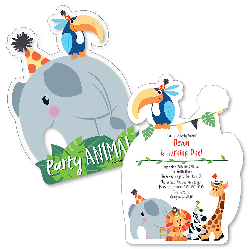 Jungle Party Animals