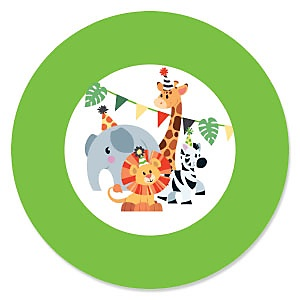 Jungle Party Animals - Baby Shower Theme