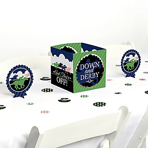 Kentucky Horse Derby - Horse Race Party Centerpiece & Table Decoration Kit