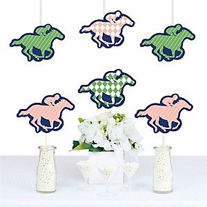 Kentucky Horse Derby - Decorations DIY Horse Race Party Essentials - Set of 20