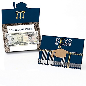 Collegiate Keys to Success - Graduation Money Holders - 8 ct.