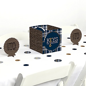 Grad Keys to Success - Graduation Party Centerpiece and Table Decoration Kit