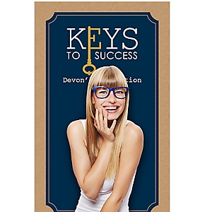 """Grad Keys to Success - Personalized Graduation Party Photo Booth Backdrops - 36"""" x 60"""""""