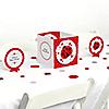 Modern Ladybug - Baby Shower Centerpiece & Table Decoration Kit