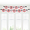 Modern Ladybug - Personalized Baby Shower Garland Letter Banners