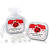 Modern Ladybug - Personalized Baby Shower Mint Tin Favors