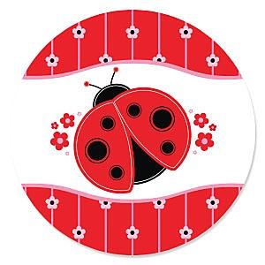 Modern Ladybug - Baby Shower Theme