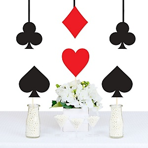 Las Vegas - Casino Decorations DIY Las Vegas Party Essentials - Set of 20