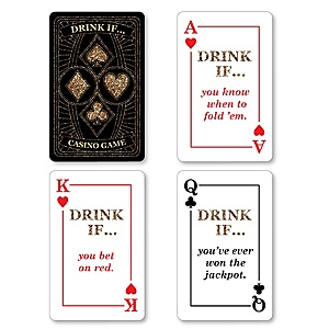 Las Vegas - Drink If Casino Party Game - Set of 24