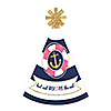 Last Sail Before The Veil - Personalized Mini Cone Nautical Bachelorette Party Hats - Small Little Party Hats - Set of 10