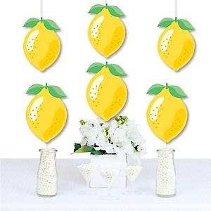 So Fresh - Lemon - Decorations DIY Citrus Lemonade Party Essentials - Set of 20