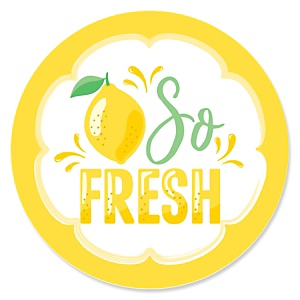 So Fresh - Lemon - Citrus Lemonade Party Theme